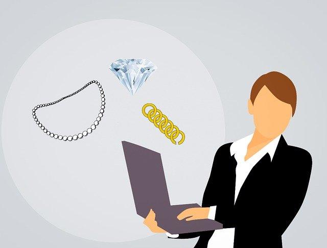 nákup šperků