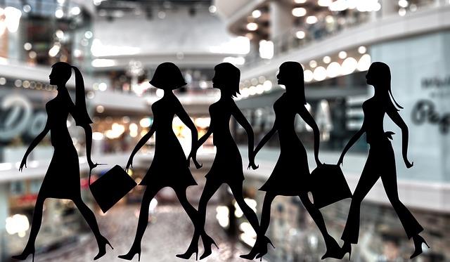 módní trend – nákupní horečka