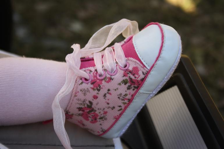 růžová botička